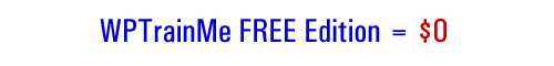 WPTrainMe FREE Edition