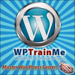 WPTrainMe - Master WordPress Faster