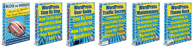 WordPress Training Guides