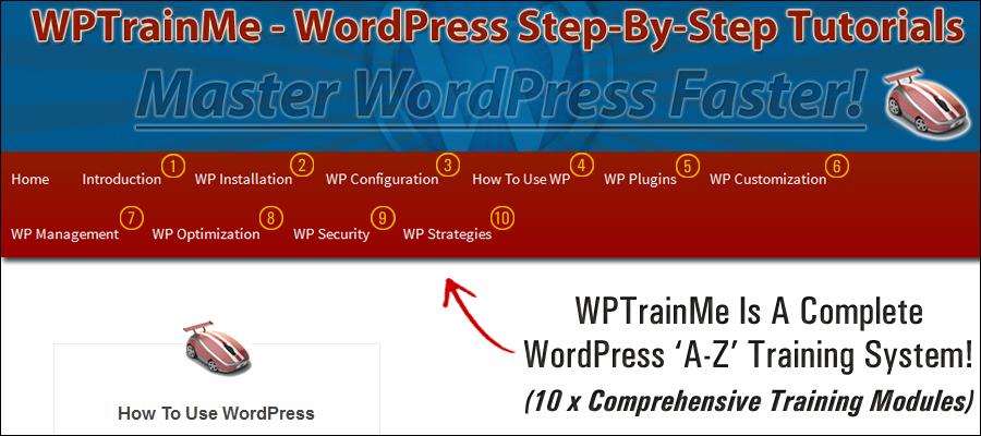 wordpress stap voor stap