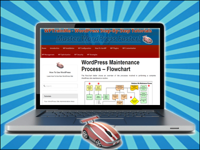 WPTrainMe - Access Hundreds Of Detailed WordPress Step-By-Step Tutorials Inside Your Own WP Dashboard!