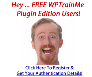 Register For WPTrainMe Free Plugin