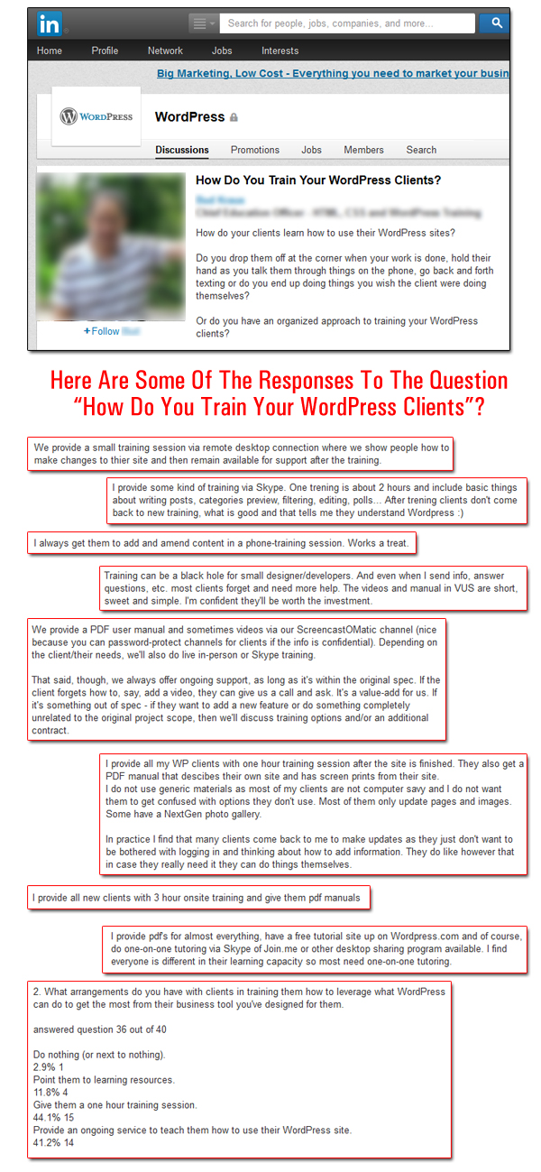 How To Train WordPress Users