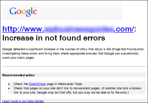 Too many page errors can affect your SEO