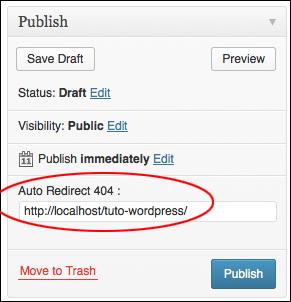 Auto Redirect 404