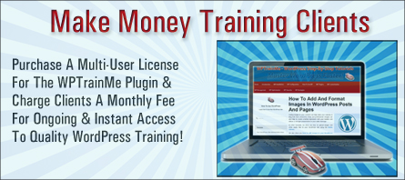 Save Time Training Clients With The WPTrainMe Plugin