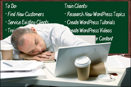 Creating An Effective Training System Is Exhausting