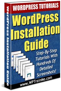 WPTrainMe - WordPress Installation Guide