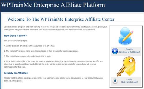 WPTrainMe Enterprise Login