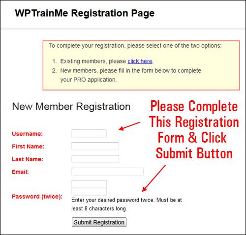 WPTrainMe Plugin User Guide