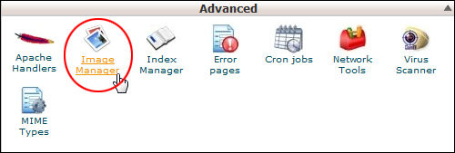cPanel - Image Manager