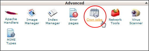 cPanel - CronJobs