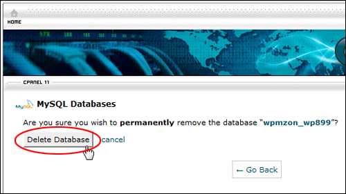 cPanel - Databases