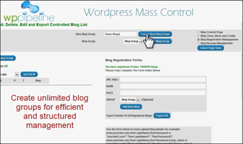 WP Pipeline - WordPress Mass Control