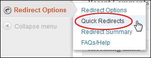 Redirect URLs In WordPress
