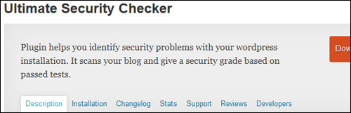 Ultimate Security Checker WP Plugin