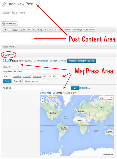 Add A Map To Your WordPress Site