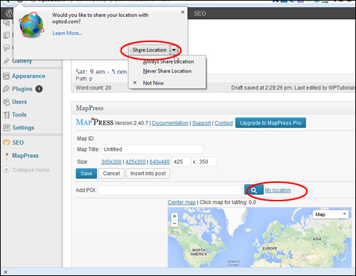 How To Add A Map To WordPress