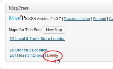 Add A Map To WordPress