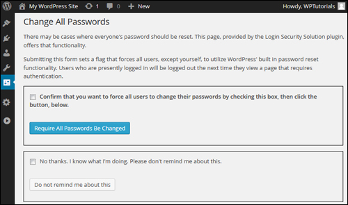 Login Security Solution