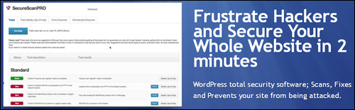 SecureScanPro - WordPress Security Software