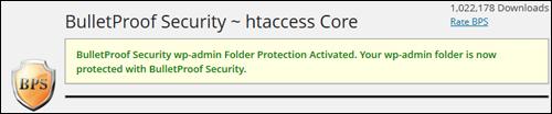 BulletProof Security Plugin