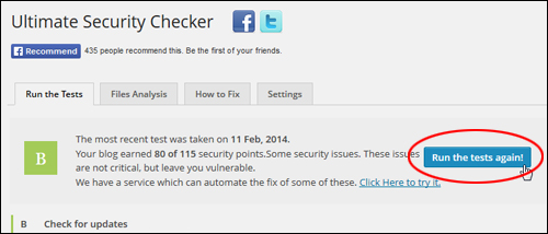 Ultimate Security Checker