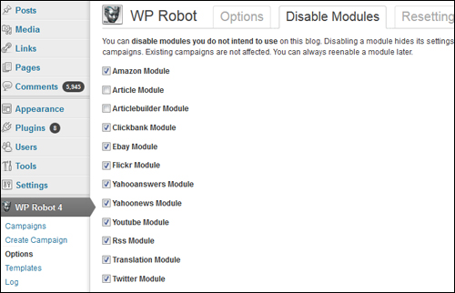 WP Robot - Autoblogging Software