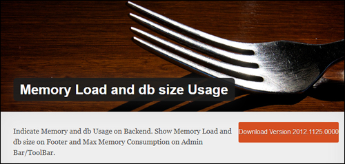 Memory Load And DB Size Usage WordPress Plugin