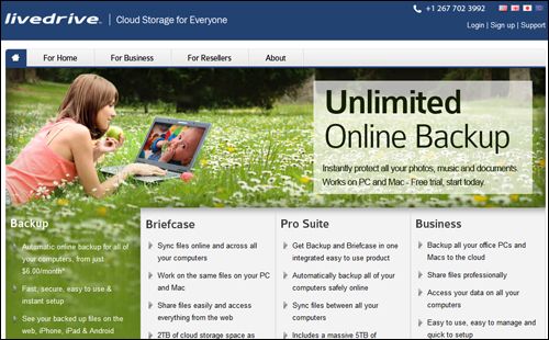 LiveDrive - Online Backup