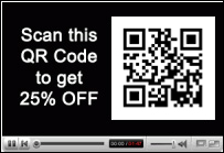 Use QR codes to promote your business with video marketing