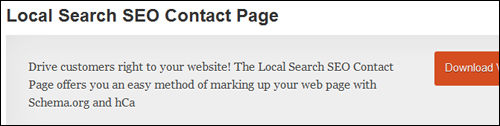 Local Search SEO Contact Page