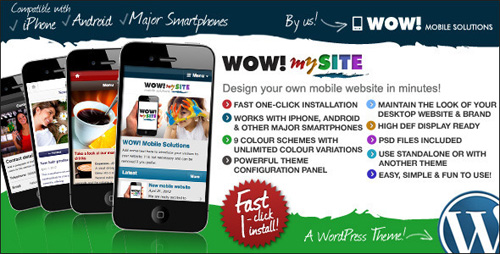 WordPress Mobile Themes