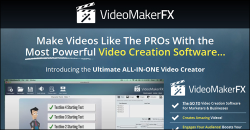 VideoMakerFX - Video Creation Software