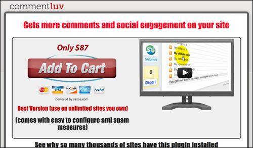 CommentLuv - Commenting Plugin For WordPress