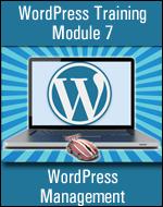 WordPress Training Module 07