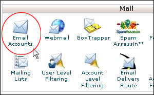 Set Email Accounts