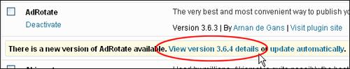 Updating WordPress Plugins