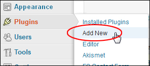Adding A New Plugin To WordPress