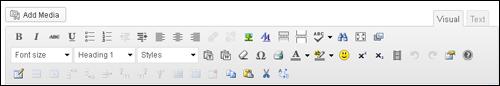 TinyMCE Advanced - WordPress Plugin