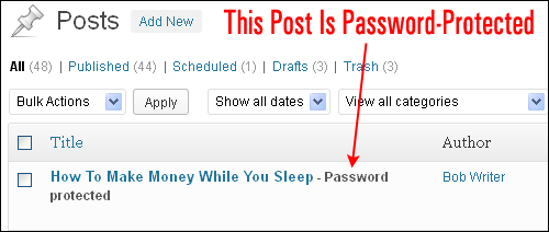 How To Protect Content In WordPress Posts And Pages