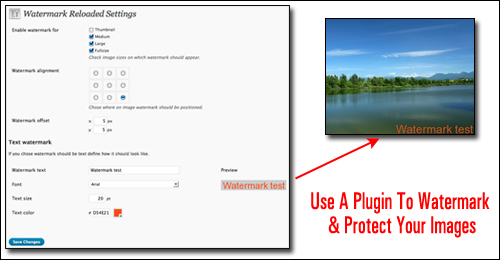 Watermark Reloaded - WordPress Plugin