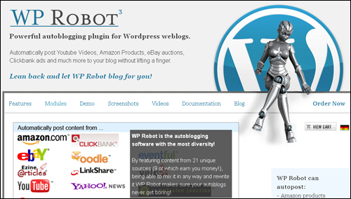WP Robot - WordPress autoblogging plugin