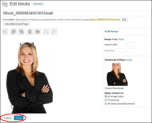How To Edit Images In The WordPress Media Library