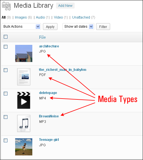 How To Use The WordPress Media Library