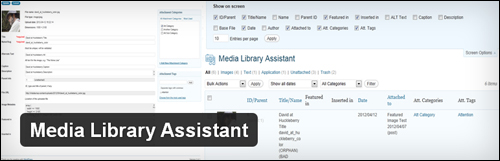 Media Library Assistant - WordPress Plugin