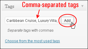 How To Add Tags To Your WordPress Posts