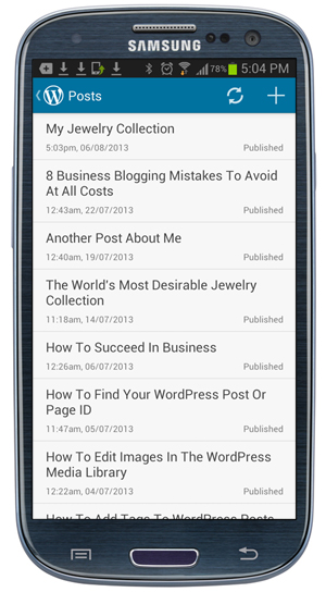 How To Post To WordPress Using Mobile Devices