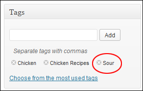 How To Configure WordPress Tags