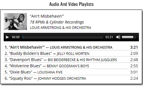 WordPress 3.9 - Audio And Video Playlists
